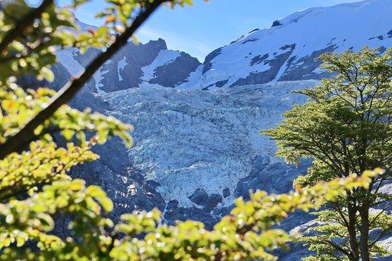 Glaciar Huemul : Vista del Glaciar