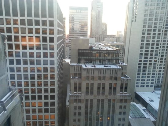 InterContinental Chicago: View from Window