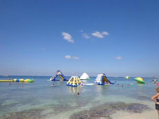 Paradise Beach: Vista de la playa