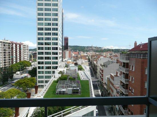 Expo Hotel Barcelona: Vista desde la terraza