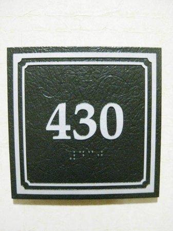 Drury Inn & Suites Valdosta: Room number 430 non-smoking