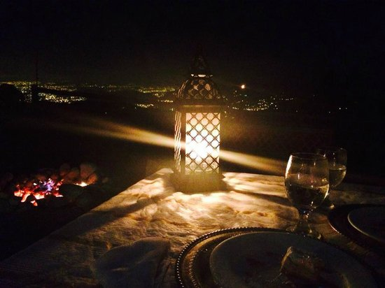 Mirador Ram Luna: nightlamp. Perfect place!