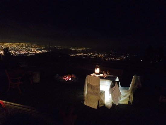 Restaurante Ram Luna: The view from the most romantic table on the restaurant