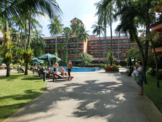 Patong Merlin Hotel : One of many pools to choose from.