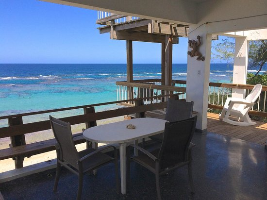 Villa Tropical Oceanfront Apartments on Shacks Beach-billede