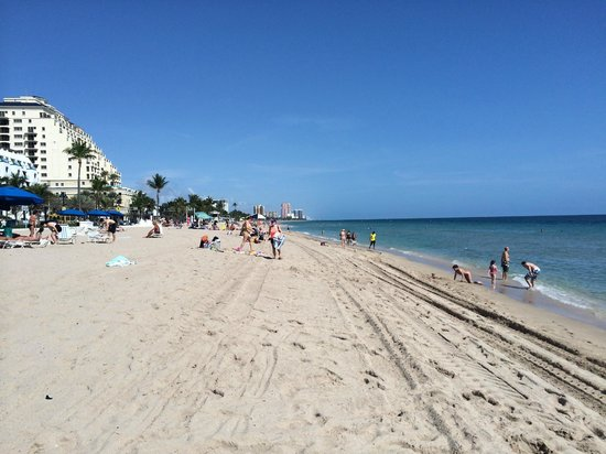 Hilton Fort Lauderdale Beach Resort: beach view