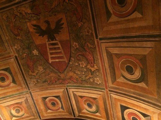 Ristorante 12 Apostoli: Volta dipinta all interno del ristorante