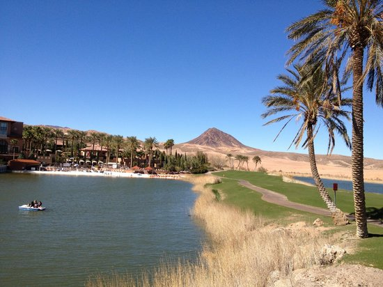 The Westin Lake Las Vegas Resort & Spa: Lake - paddle boats are free to use