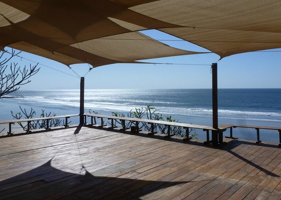 Las Flores Resort: yoga pavilion