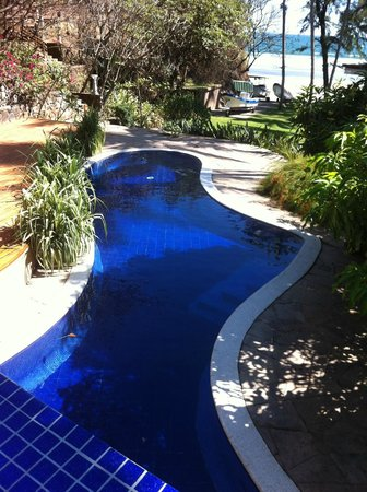 Las Flores Resort: freeform pool