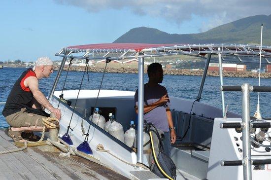 Dive St. Kitts: Tony