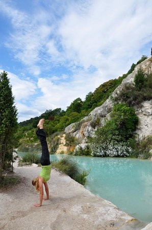Locanda del Loggiato : Natural thermal pools are free