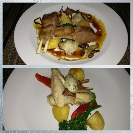 Eagles Nest: The private chef served us mains