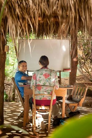 La Mariposa Spanish School and Eco Hotel: Classes at La Mariposa