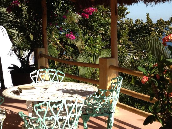 Casa Kukana: A lovely place to have coffee outside your room