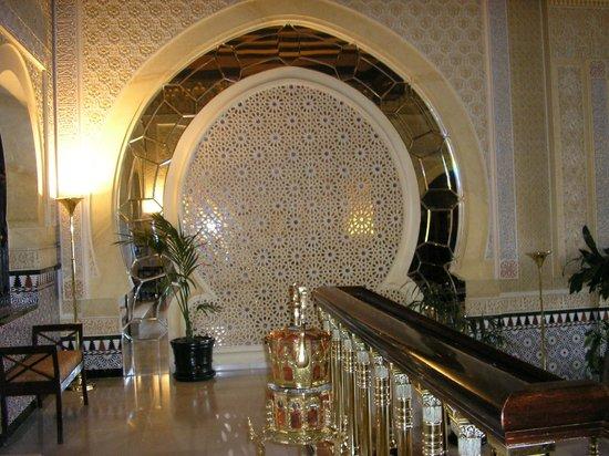 Hotel Alhambra Palace: Detalle de decoracion