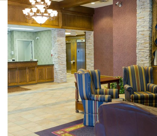 Comfort Inn Lundy's Lane: Our Lobby and Check in desk