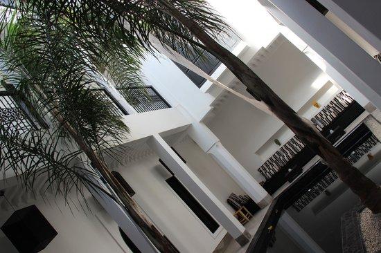 Riad First : Cour intérieure