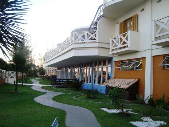 Vilarejo Praia Hotel : fachada