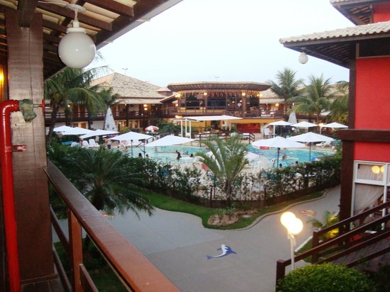 Vilarejo Praia Hotel : vista