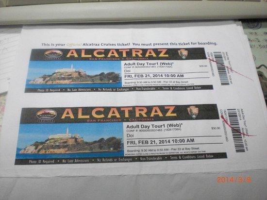 Alcatraz island tickets coupons