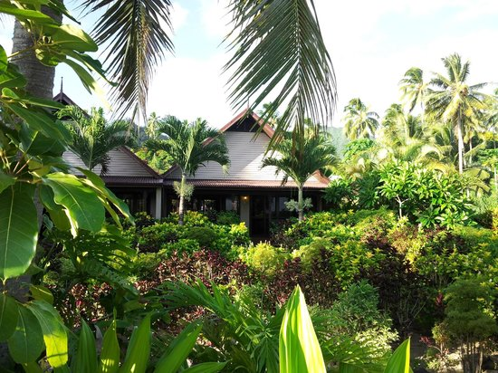 Sea Change Villas : View of our Villa