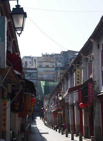Rua da Felicidade: 街並