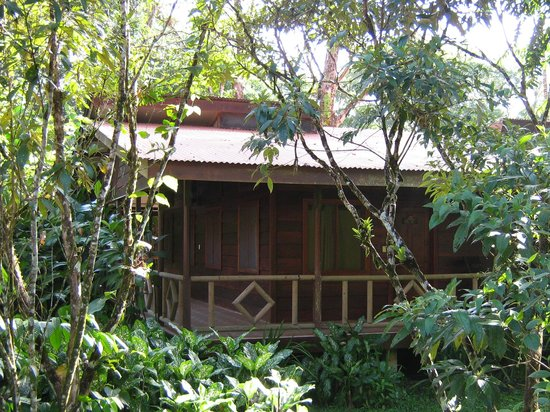Pachira Lodge: Our bungalow