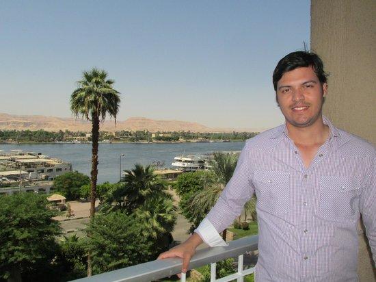 Eatabe Luxor Hotel : Vista al nilo desde la habitación
