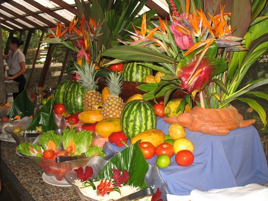 Pachira Lodge: The buffet