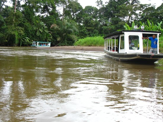 Pachira Lodge: Boat tour in the canal
