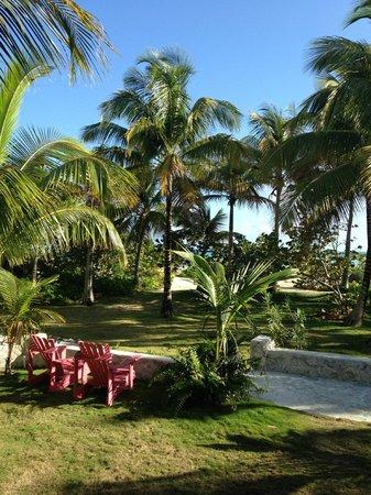 Kamalame Cay: View from main Villa