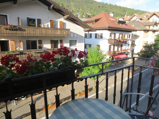 Hotel Garni Planaces: ベランダからの眺め