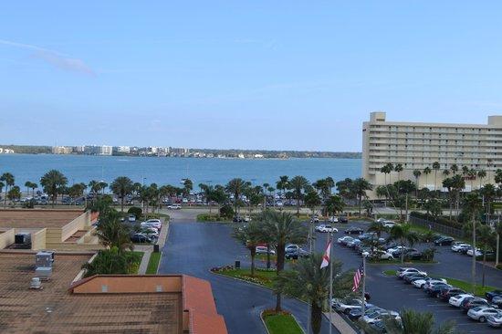 Sheraton Sand Key Resort: View from Balcony