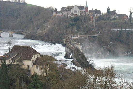 Rhine Falls : Rheinfall view
