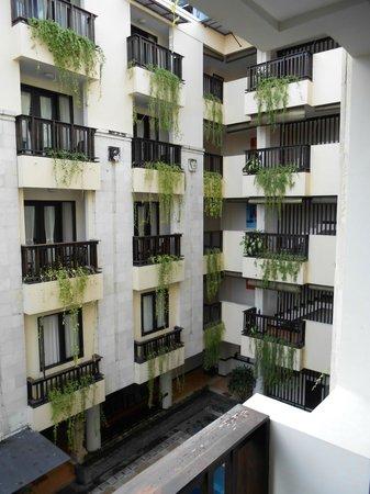 Losari Hotel & Villas: Balcony view