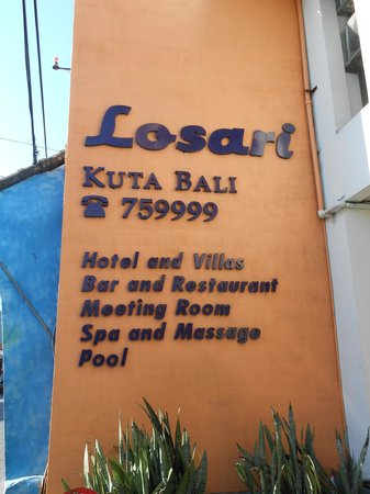 Losari Hotel & Villas: Hotel Sign