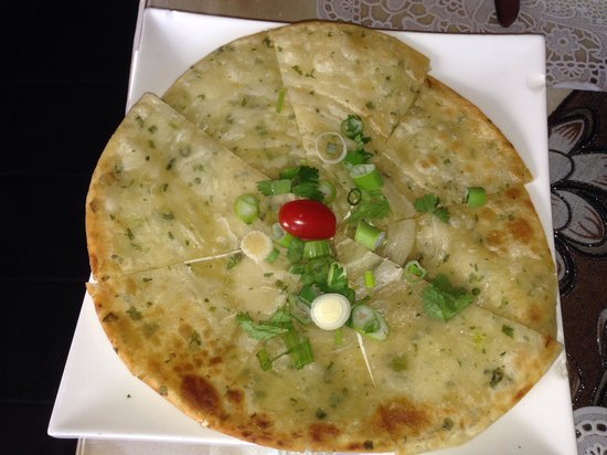Benjarong Thai Cuisine : Grilled Indian Flat bread