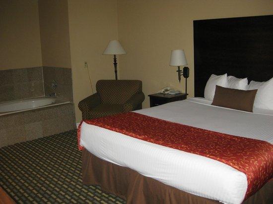 Best Western Kettleman City Inn & Suites: king bed