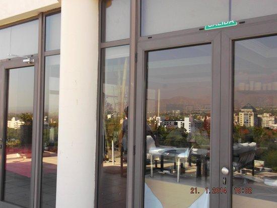 Premium Tower Suites Mendoza : desayunador