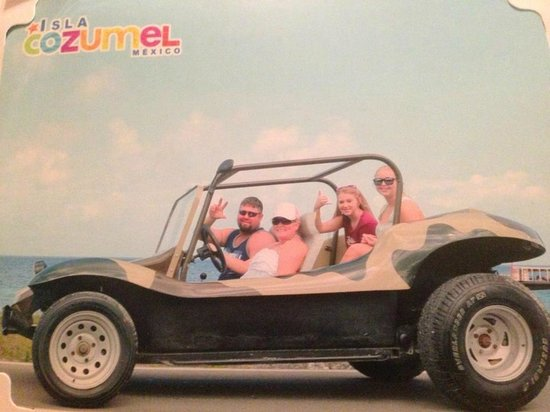 Dune Buggy Tours: our dune buggie!!