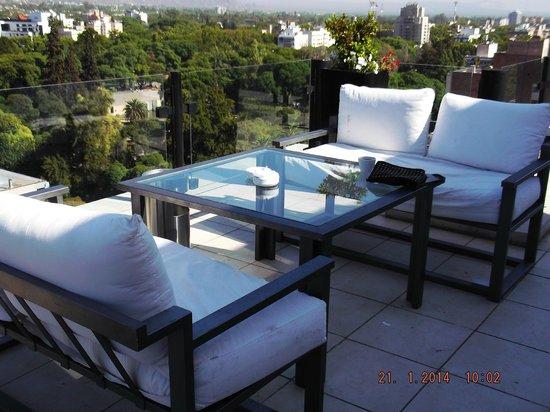 Premium Tower Suites Mendoza : vista desde el desayunador