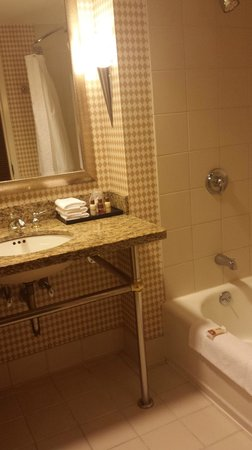 Sheraton Atlantic City Convention Center Hotel: Bathroom