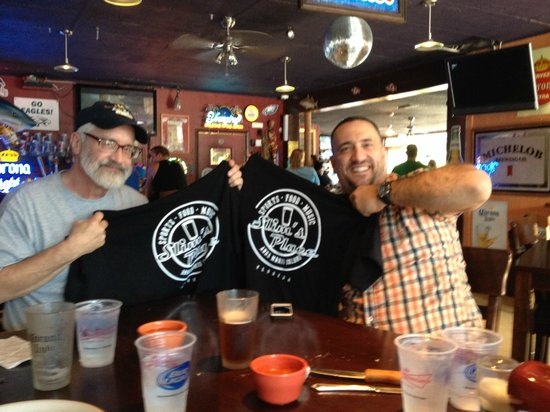 Slim's Place: First ever eating contest winners
