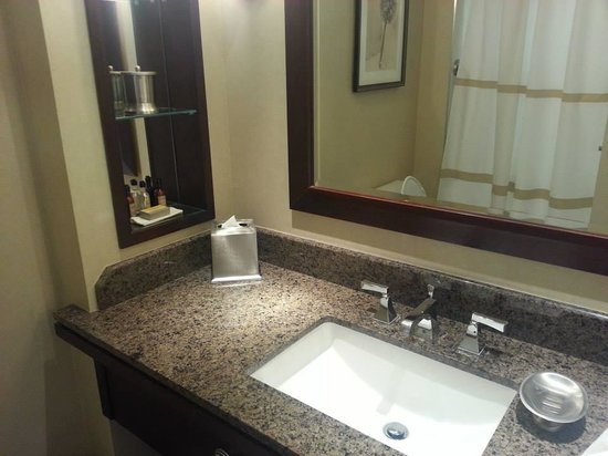 Toronto Marriott Bloor Yorkville Hotel: Bathroom