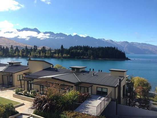Peppers Beacon Queenstown : view from the balcony of room 810, stunning