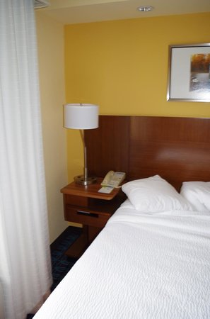 Fairfield Inn & Suites Jacksonville Airport : Bed