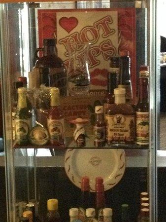 The Cajun House: Hot sauce collection