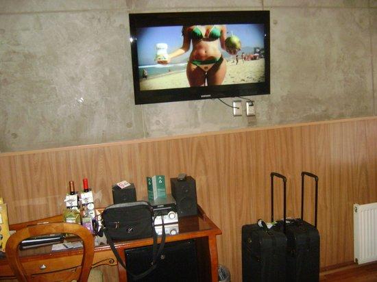 Hotel Panamericano: Habitación