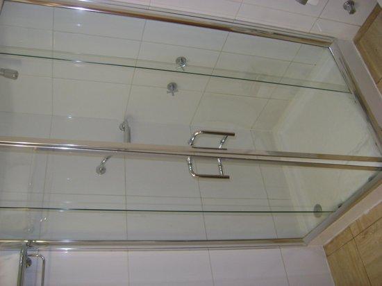 Hotel Panamericano: Mampara en el baño